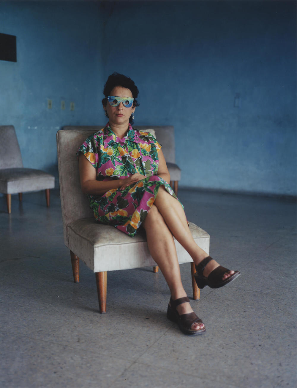 Rene Vallejo Psychiatric Hospital, Cuba, C-type print, 16 x 20 inches, 2003