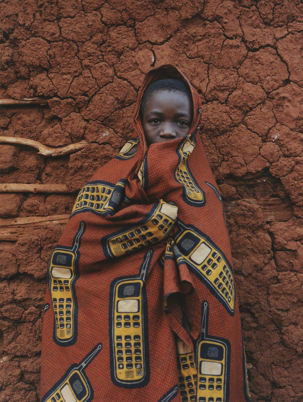 Lukole Refugee Camp, Tanzania, C-type print, 16 x 20 inches, 2003