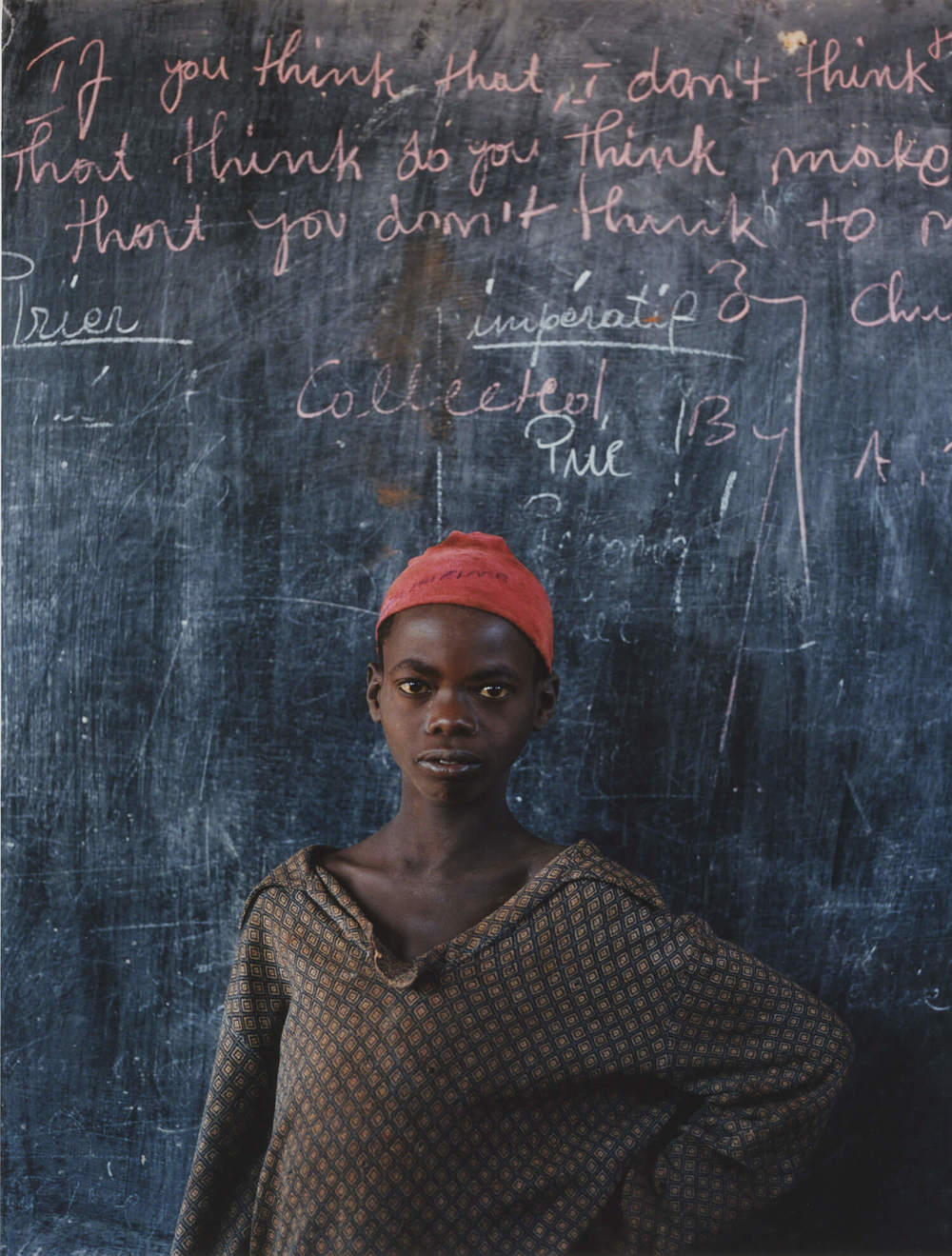 Lukole Refugee Camp, Tanzania, C-type print, 16 x 20 inches, 2003