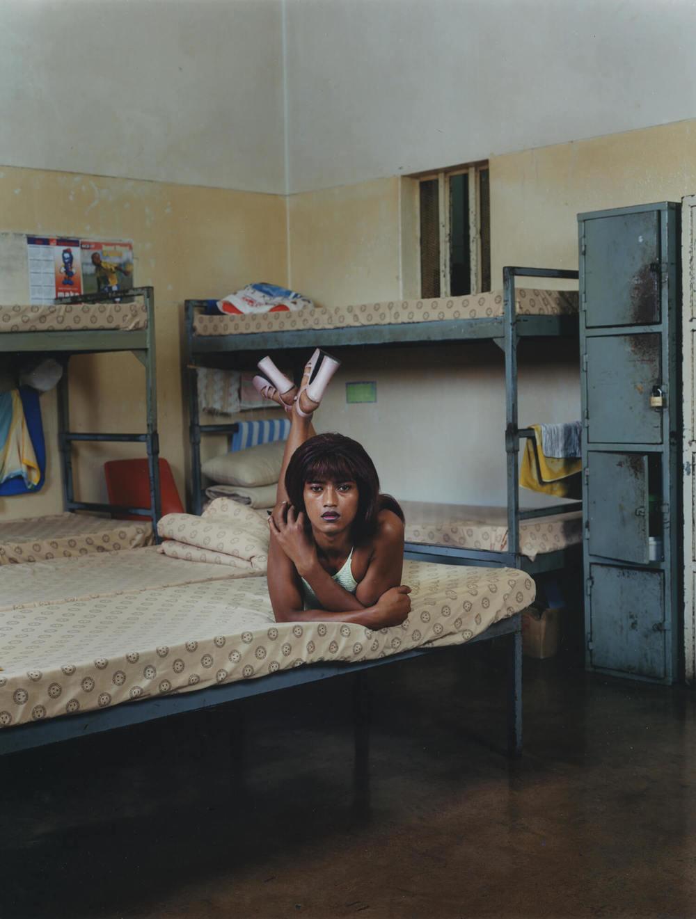Pollsmoor Maximum Security Prison, South Africa, C-type print, 16 x 20 inches, 2003