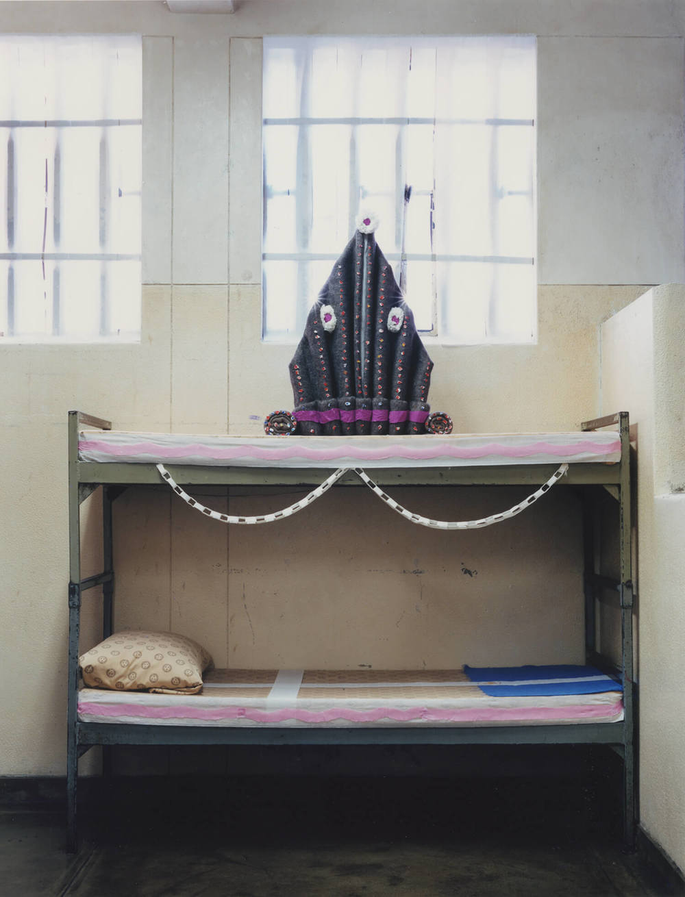 Pollsmoor Maximum Security Prison, South Africa, C-type print, 16 x 20 inches, 2003