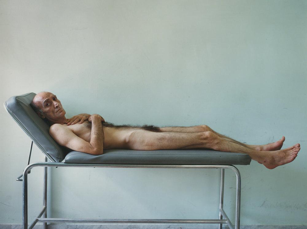 Aversa Criminal Psychiatric Hospital, C-type print, 16 x 20 inches, 2003