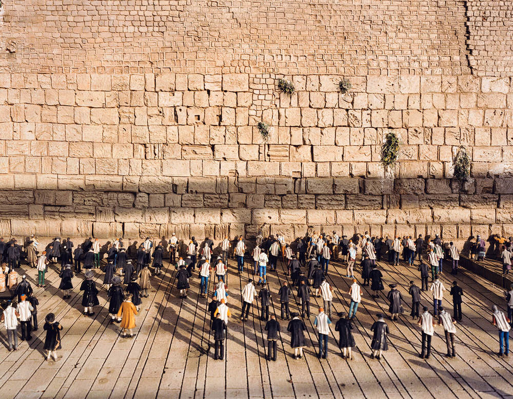 Mini Israel #1, (c-type print, 19x23-, 2006)