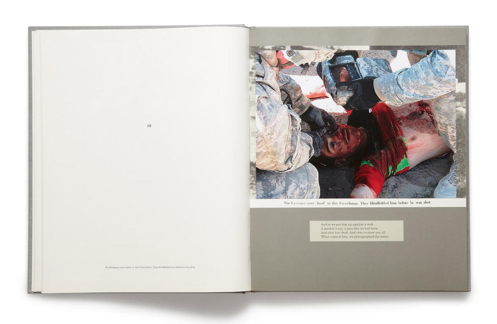 Plate 12, War Primer 2, Adam Broomberg & Oliver Chanarin, 2011, hardback book (MACK)