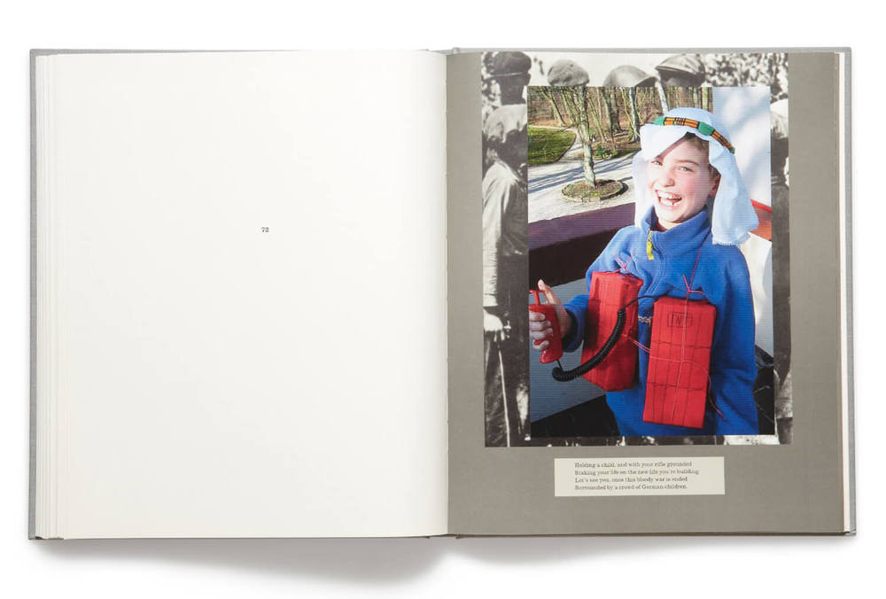 Plate 72, War Primer 2, Adam Broomberg & Oliver Chanarin, 2011, hardback book (MACK)