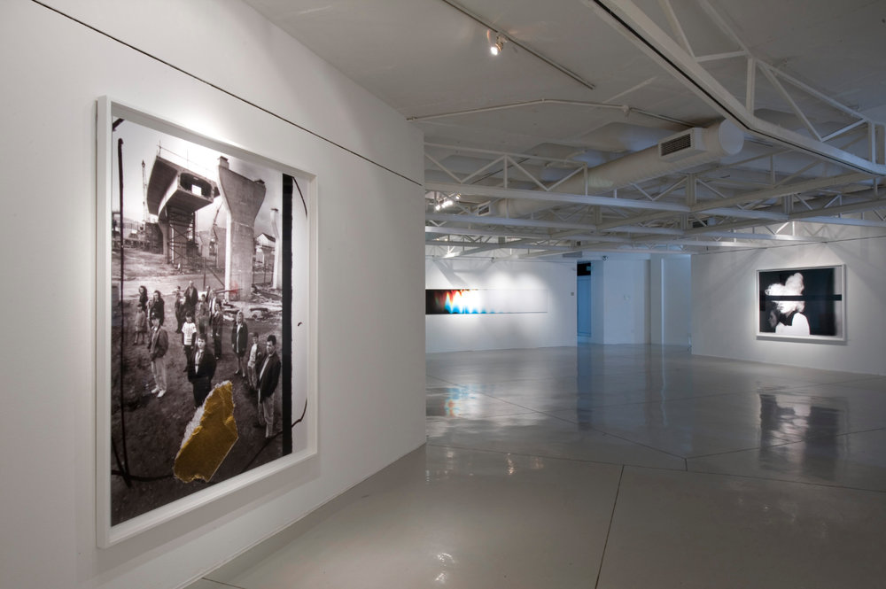 People in Trouble Laughing Pushed to the Ground (Contacts), Installation View, image © Goodman Gallery, 2011