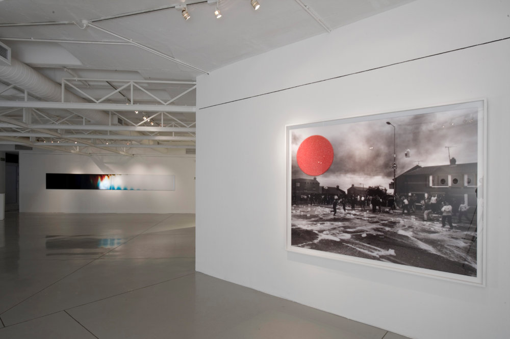 People in Trouble Laughing Pushed to the Ground (Contacts), Installation View, image © Goodman Gallery, 2011 - 5.jpg