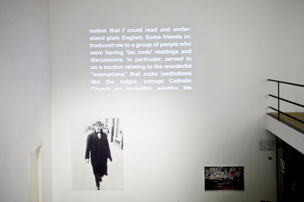 Portrait of Fernando Pessoa, Claire Fontain, Lester B Morrison