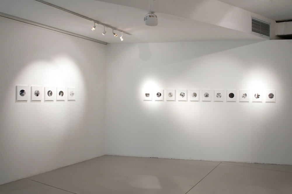 People in Trouble Laughing Pushed to the Ground (Dots), Installation View, image © Goodman Gallery, 2011