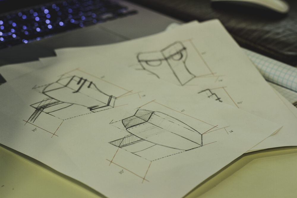 DESIGN  IS THE SOLUTION TO VISION.  ENGINEERING  IS THE SOLUTION TO DESIGN.   MANUFACTURING  MAKES IT REAL.
