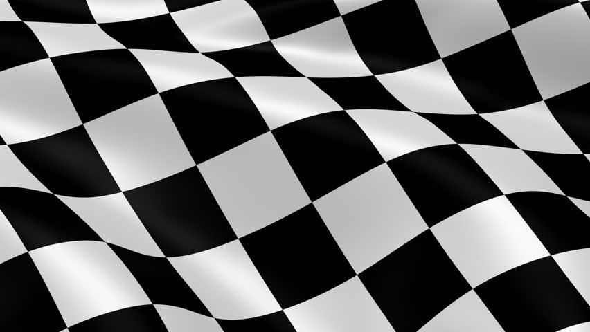 checkered flag open house finish line auto storage