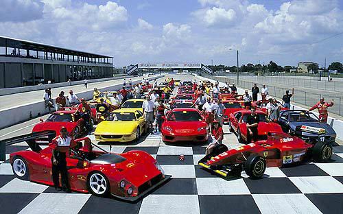 U201cFerrari Club Of Americau201d Open House U2014 Finish Line Auto Storage