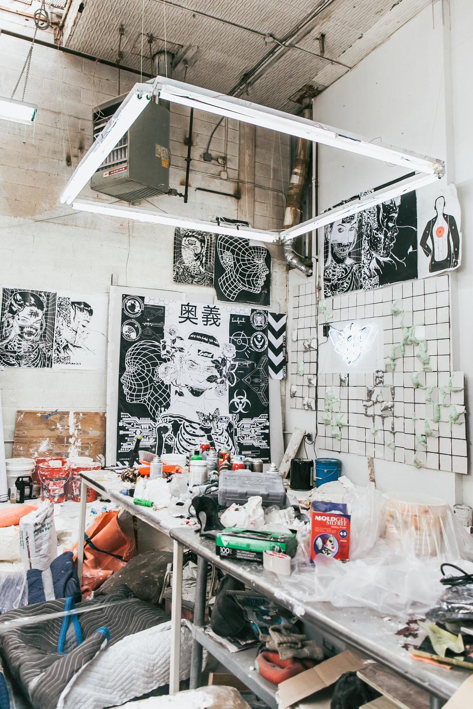 James moore Artist / For Scraper MagazineVOL.4