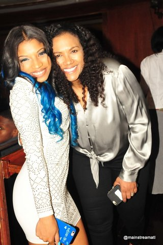 MicahBlu & Manager Victoria Williams