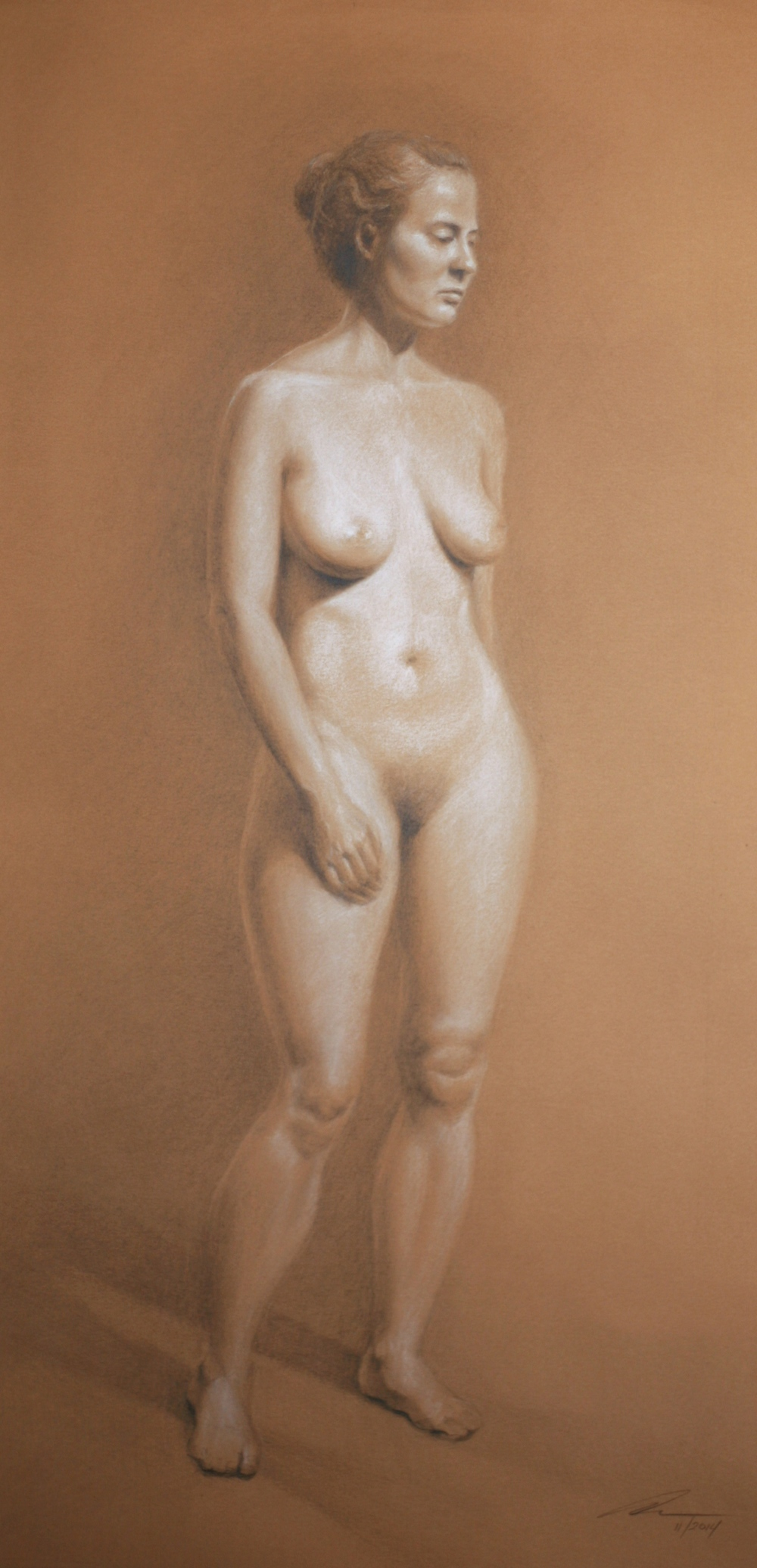 Figure Study on Tan