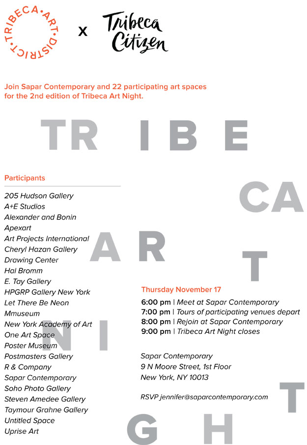 Tribeca Art Night