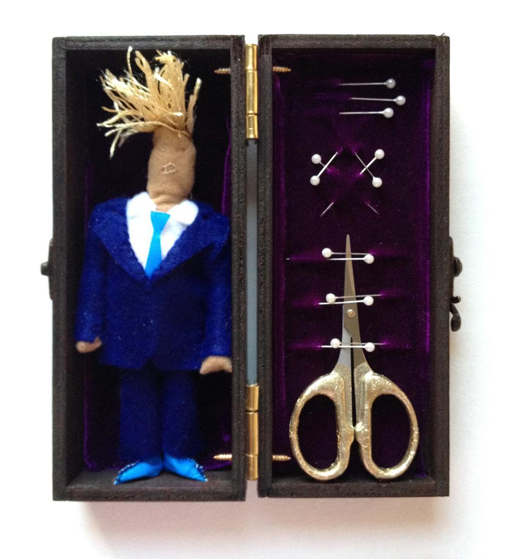 """Rute Ventura, """"Trump Voodoo Box"""""""