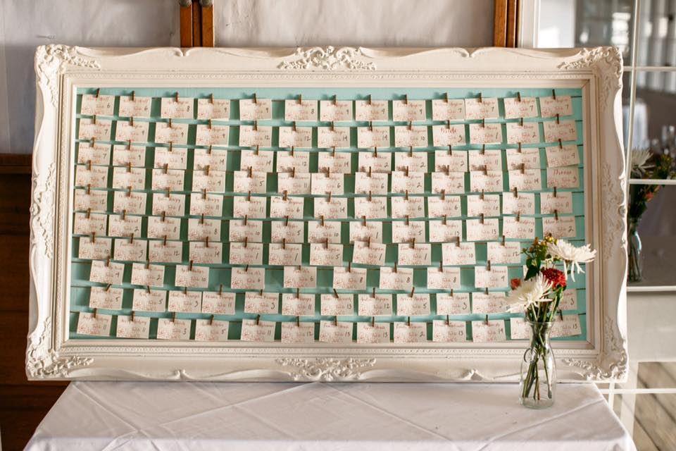 Eden Escort Card Frame