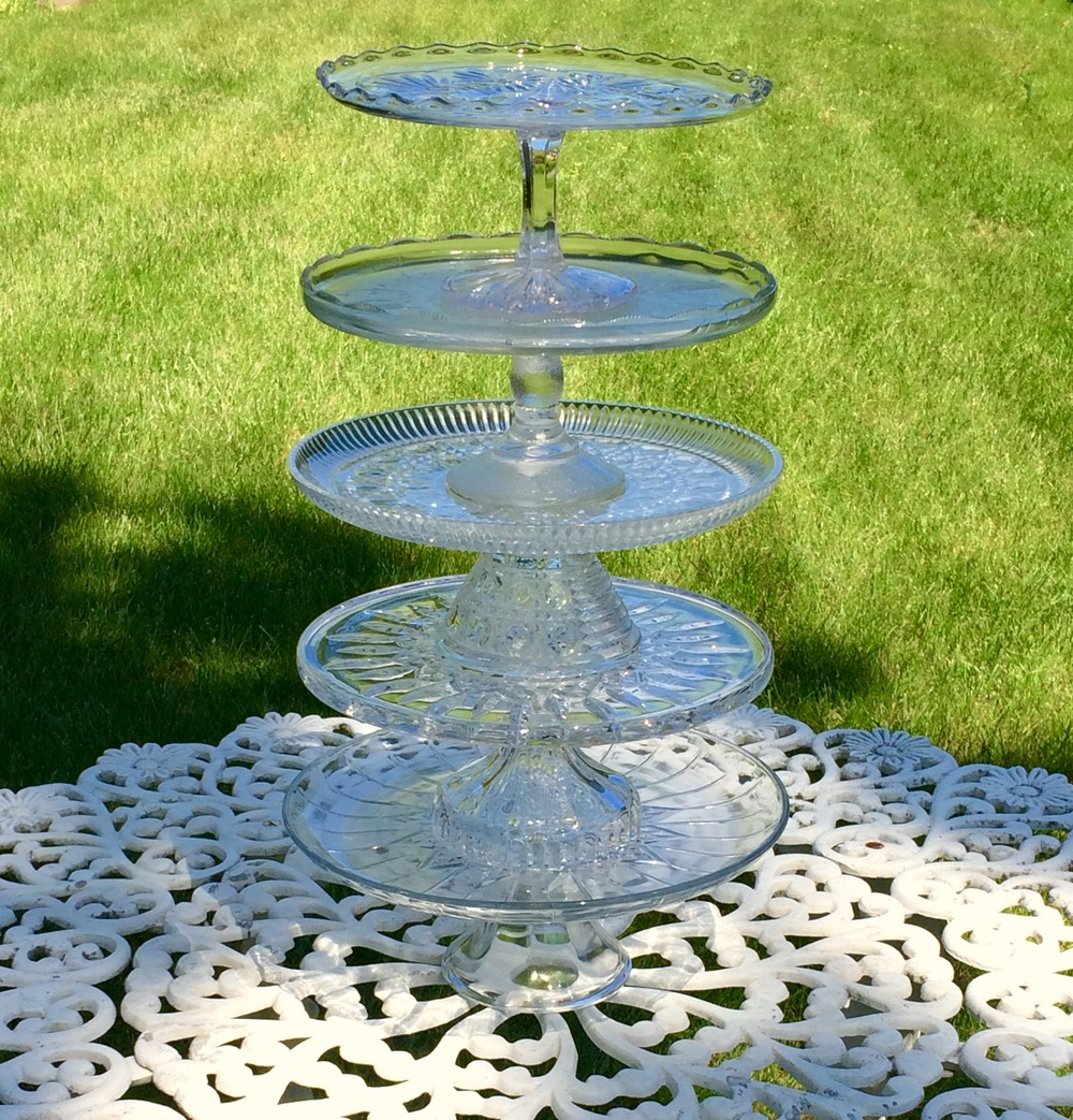 Clear Glass Cake Stands