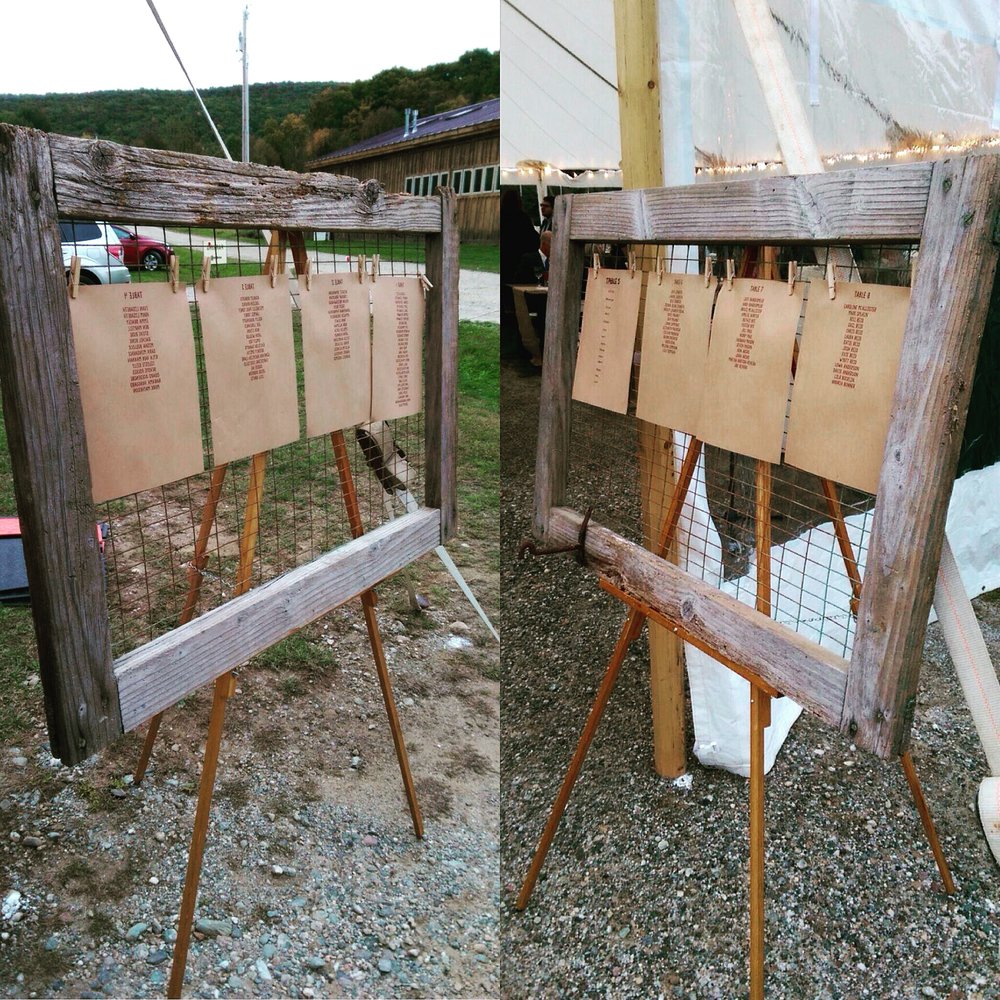 Rustic Farm Frames