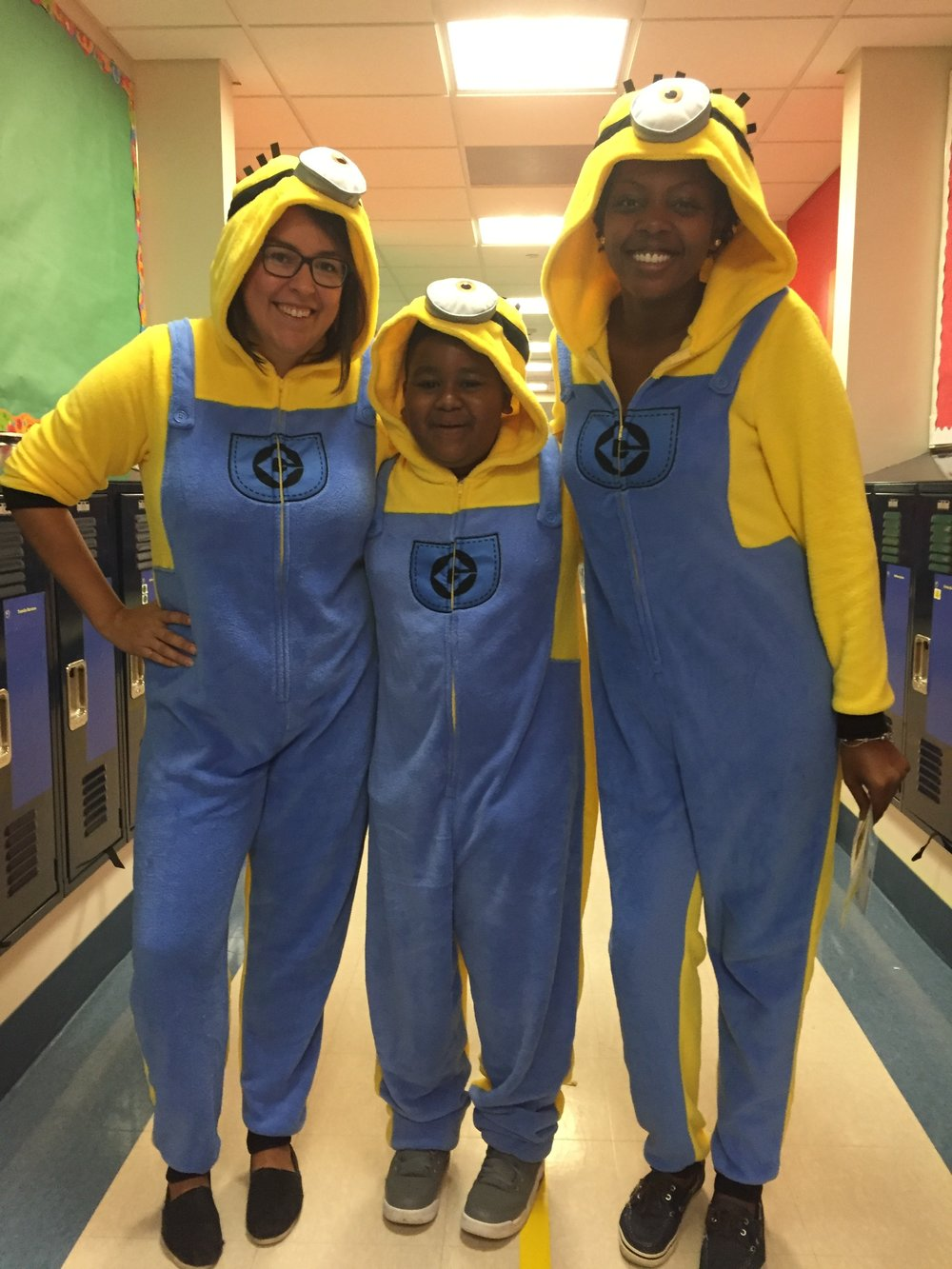 Amistad Academy Middle does Minions.