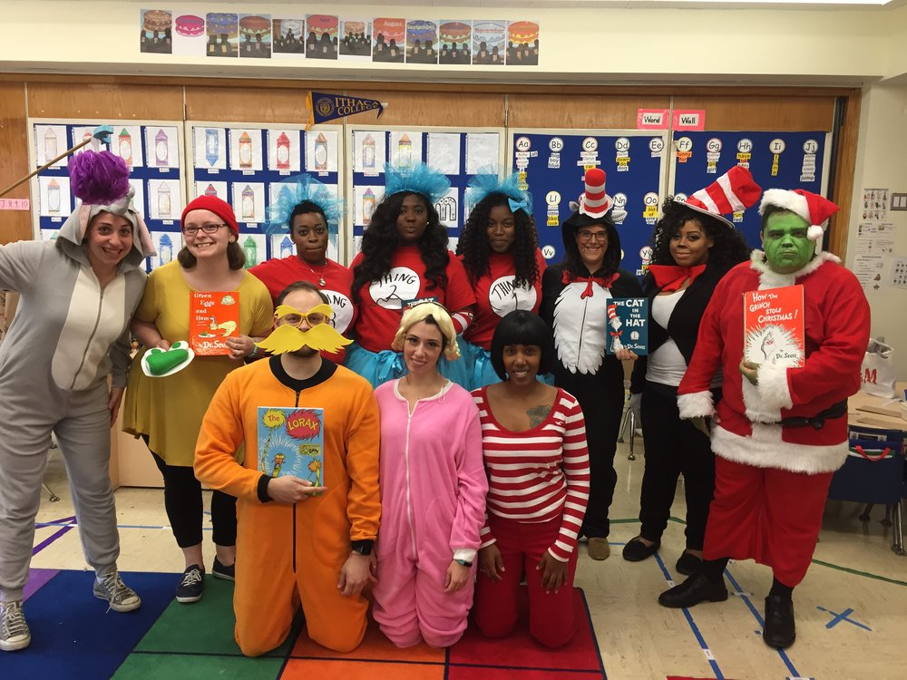 AF Crown Heights Elementary takes on Dr. Seuss.