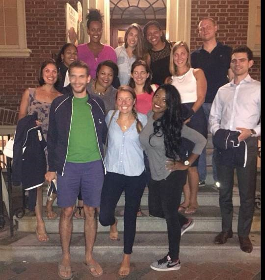 Principals-in-Residence during a recent retreat in Philadelphia.