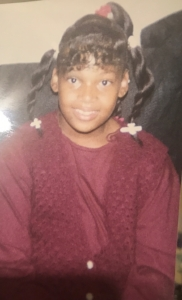 Naiema, during her childhood years in Brooklyn.