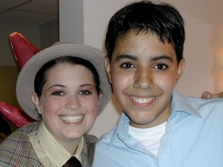 Heather and Frankie in Guys and Dolls.