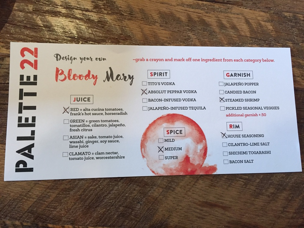 Design your own Bloody Mary