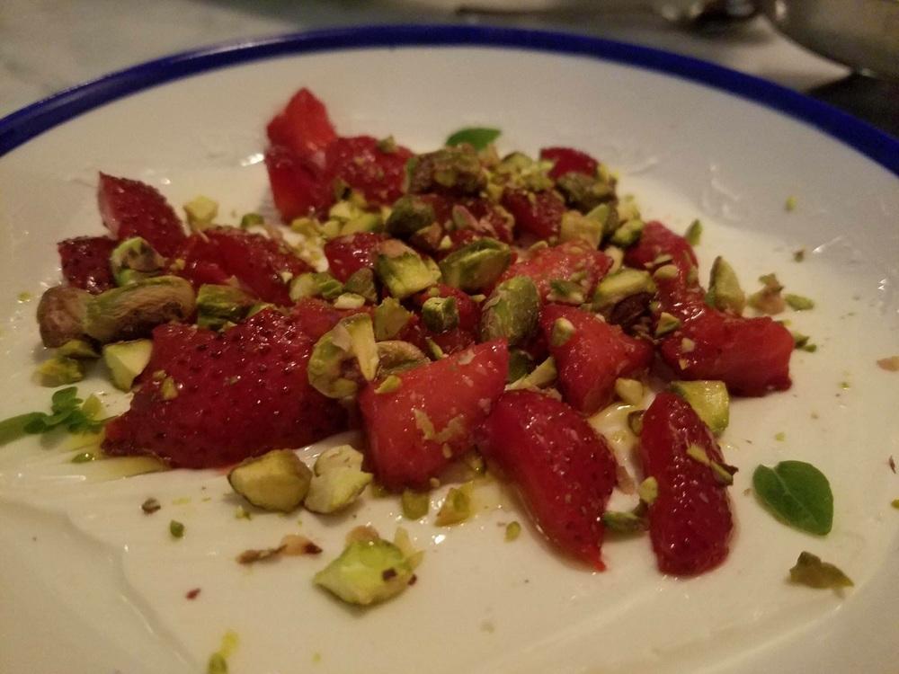strawberrys creme fraisch