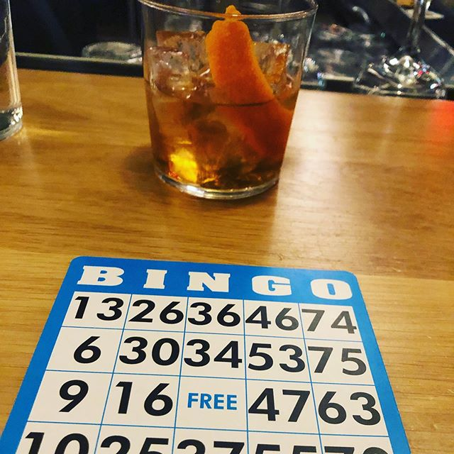 Bingo and bourbon @calico.dc.
