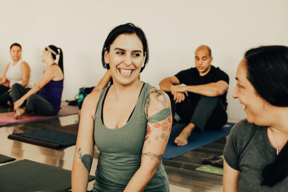 yoga at work -