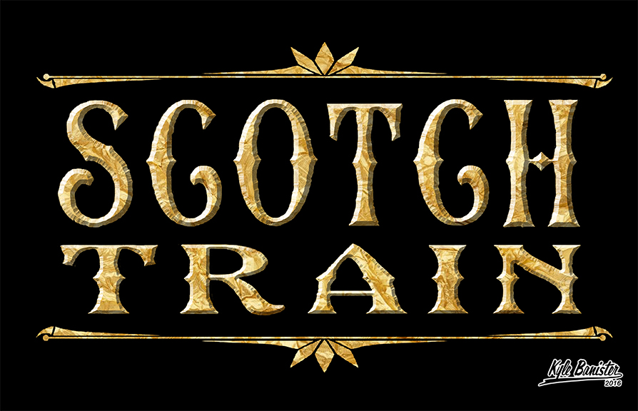 This photo simply says scotch train. All the information for this train is listed below.