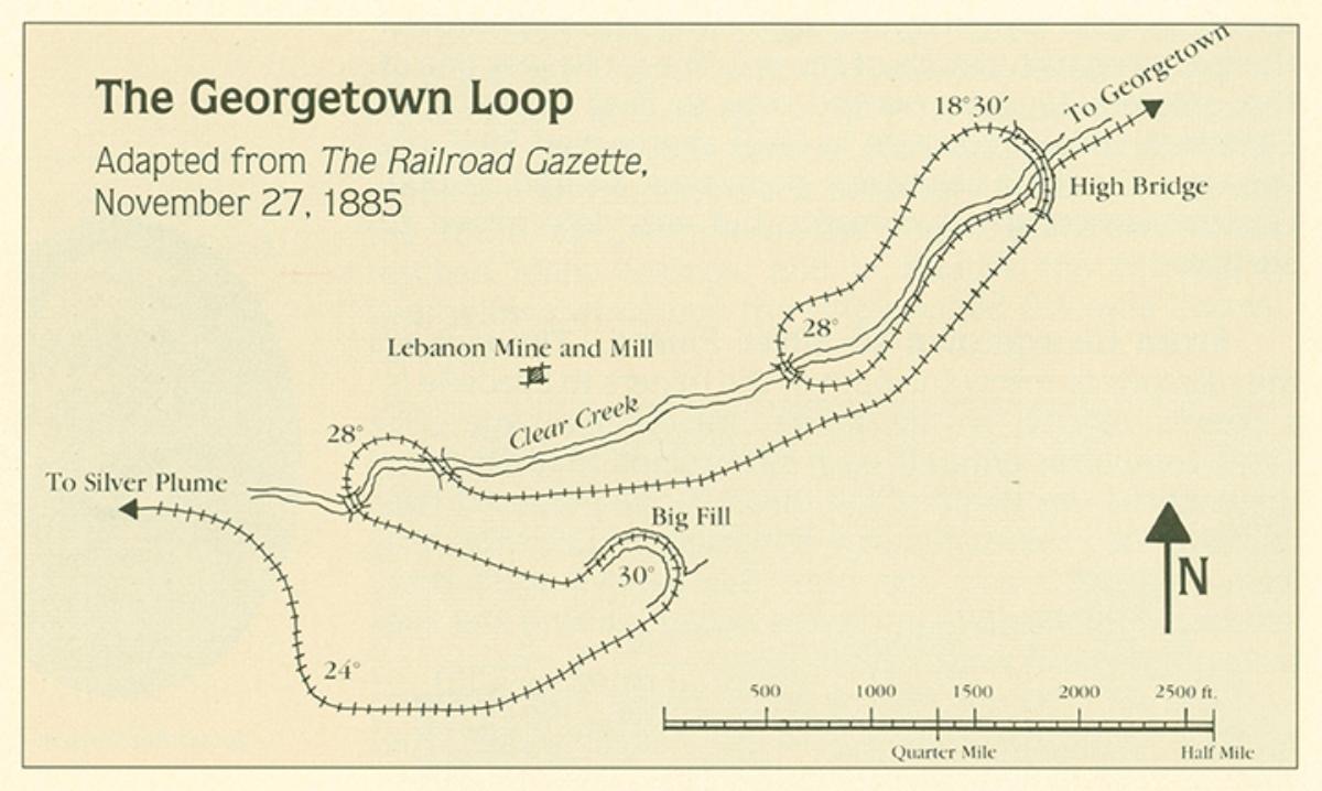 The Loop Georgetown Loop Railroad