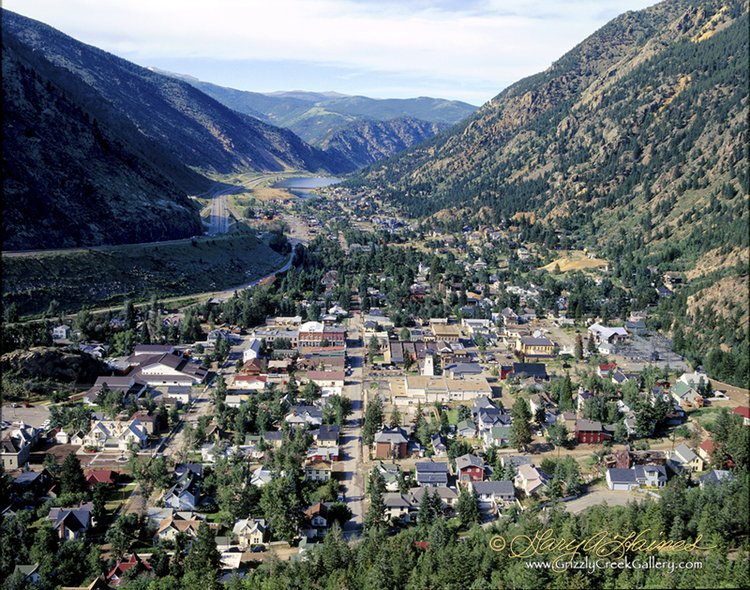 This photo, taken by Gary A. Haines, is a breathtaking view of Georgetown taken from Guanella Pass. From the old downtown to the Georgetown lake, the entire town can be seen sandwiched in between beautiful mountain views.