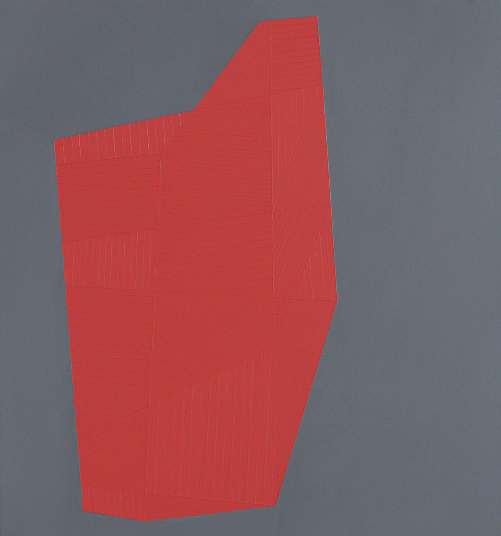 38th year #5 2015 Acrylic on panel 16 x 15 inches