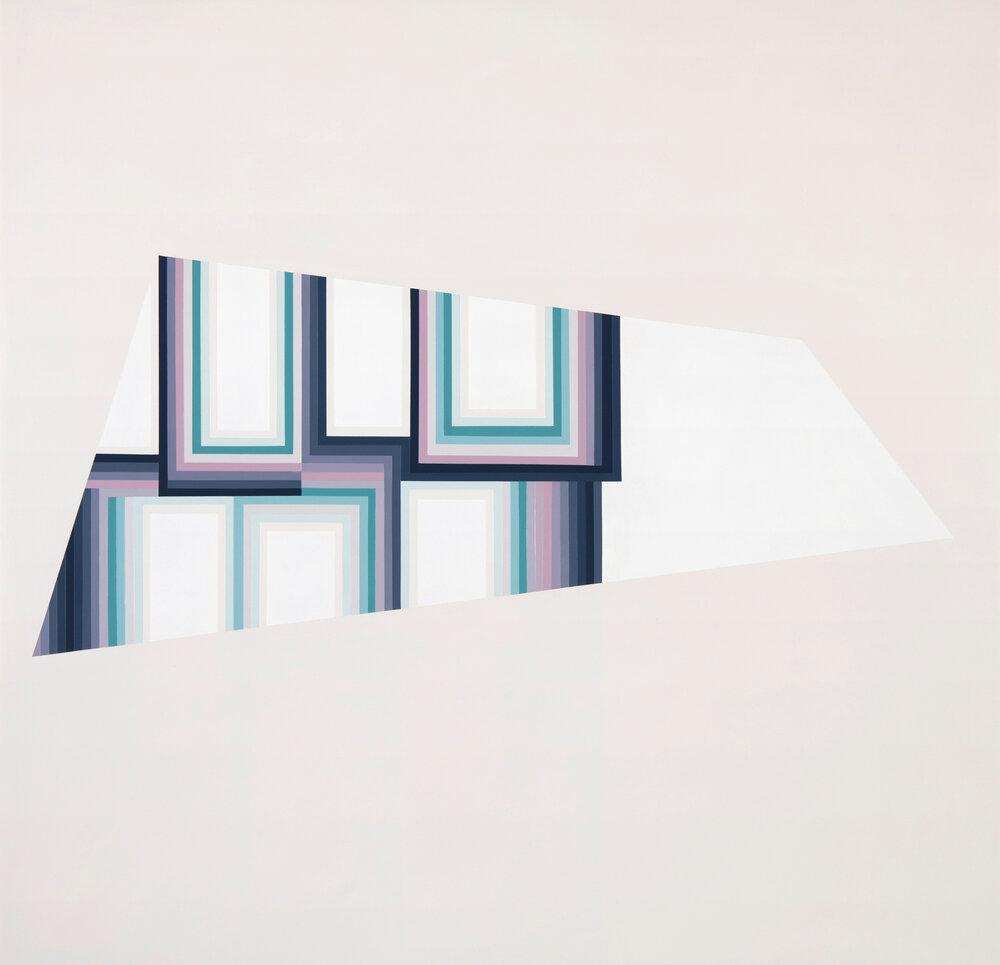 Among 2017 Acrylic on panel 29 x 30 inches