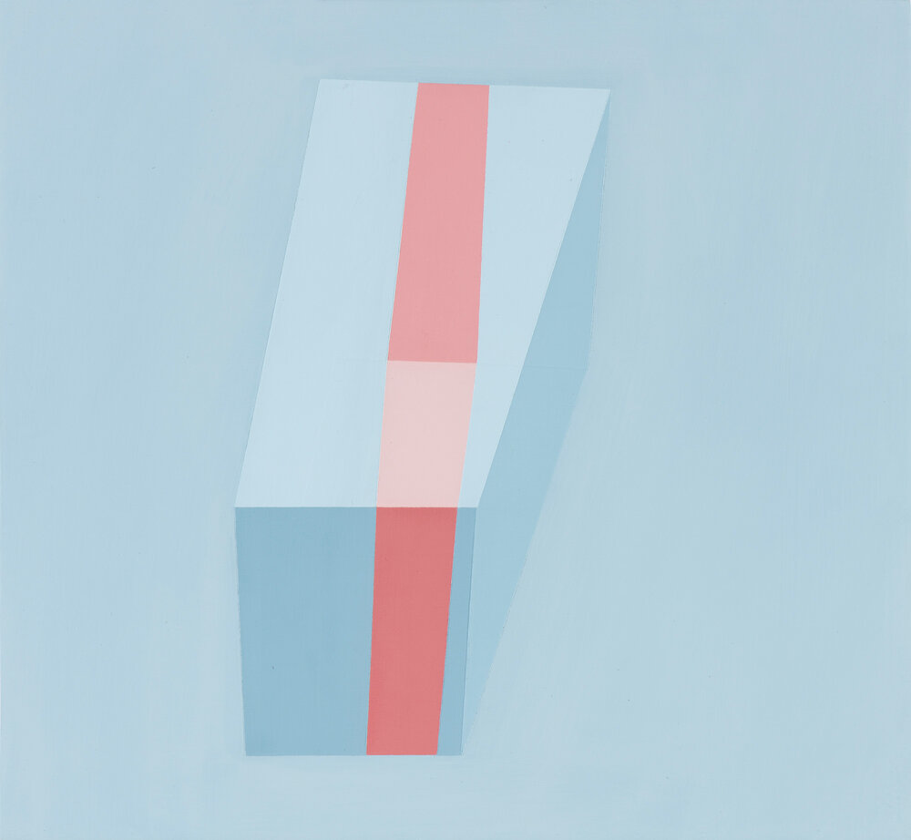 Passing Through #3 2013 Acrylic on panel 12 x 13 inches