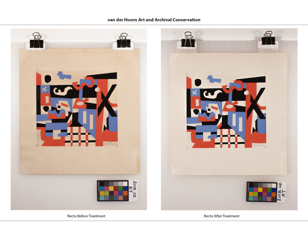 Stuart Davis Screenprint