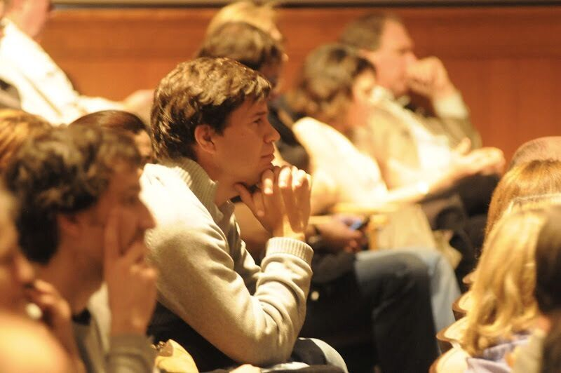 The Audience Was a Diverse Mixture of Academics, Students, Researchers and Writers.