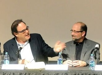 Gary Shared the Panel with Oliver Stone and Three Institute Academics.