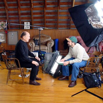 Interviewing Robert Duvall