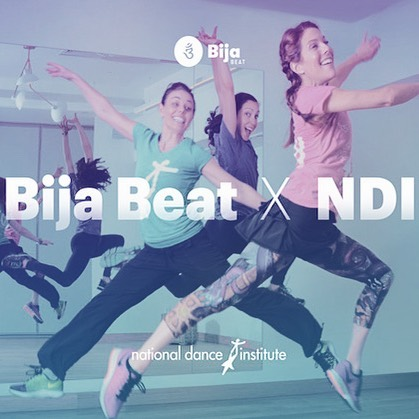 Calling all fun-loving, passionate adults who love a great workout and search for ways to give back. - Come dance with us tomorrow, Tuesday 10.24, at 6:15 pm @nationaldanceinstitute. Give your body, mind and spirit some rejuvenating exercise. - Fee: $20 which benefits the students of NDI. Link to reserve your spot in bio.