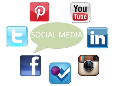 Social Media Icons 467x350