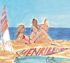 Henri Bendel beach copy