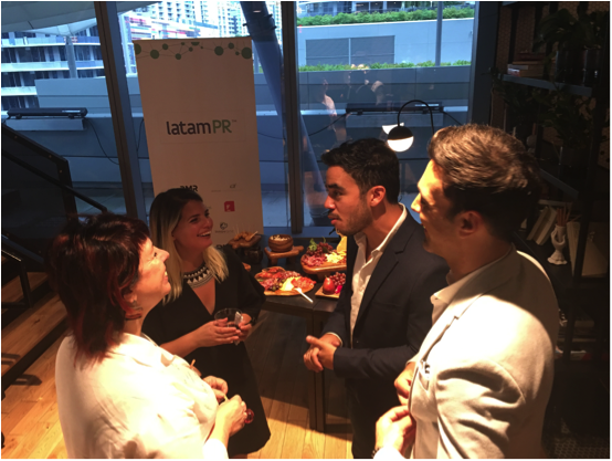 CIIC hosted a networking event at the new WeWork, Brickell City Centre where the members met with potential clients and shared insights about the latamPR platform