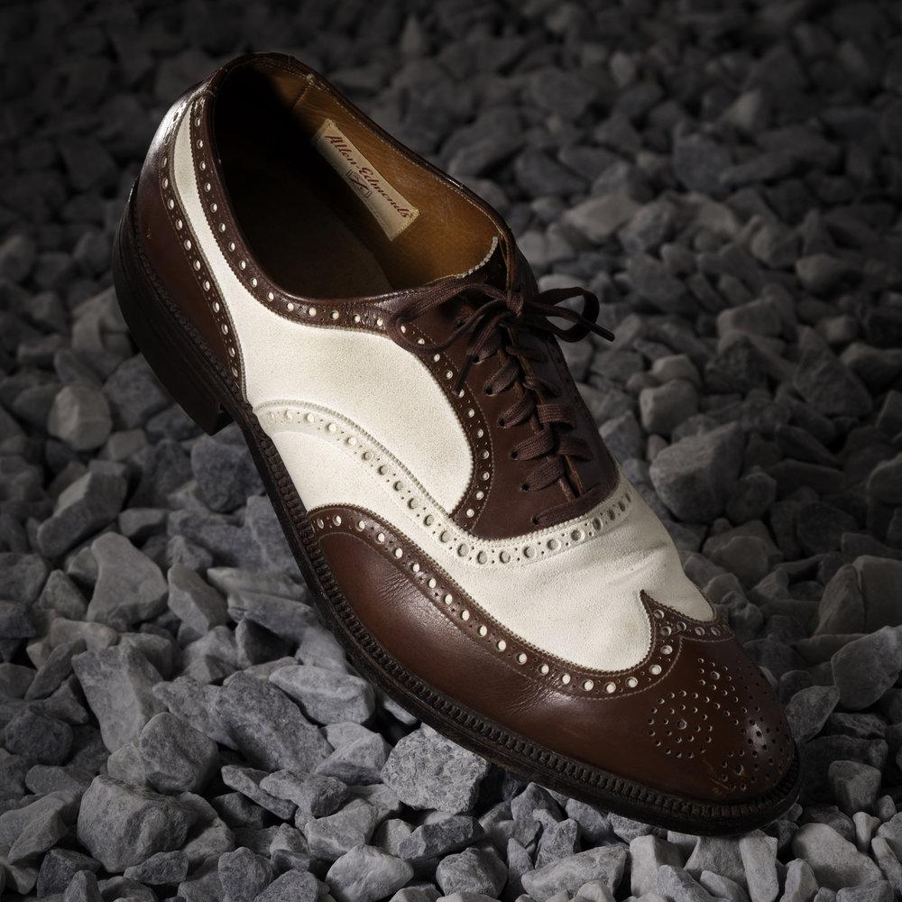 """1940s Wingtip """"Spectator"""" Shoe"""