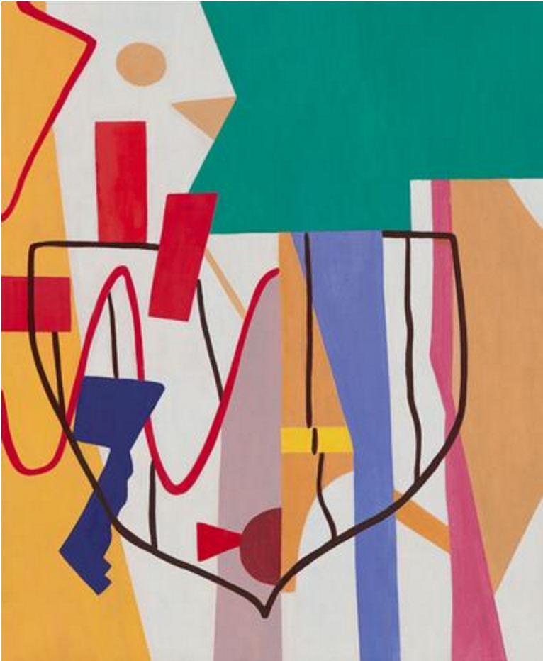 """Adria's Green""2014 oil on canvas 28 3/4 x 23 1/2 inches 73 x 60 cm"