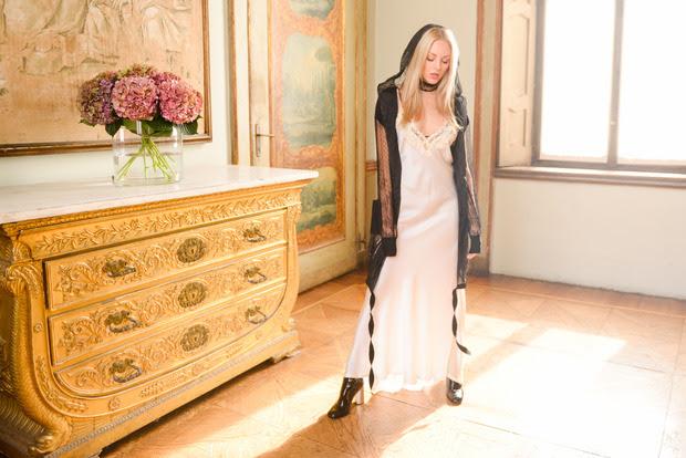 Shea Marie (wearing La Perla)